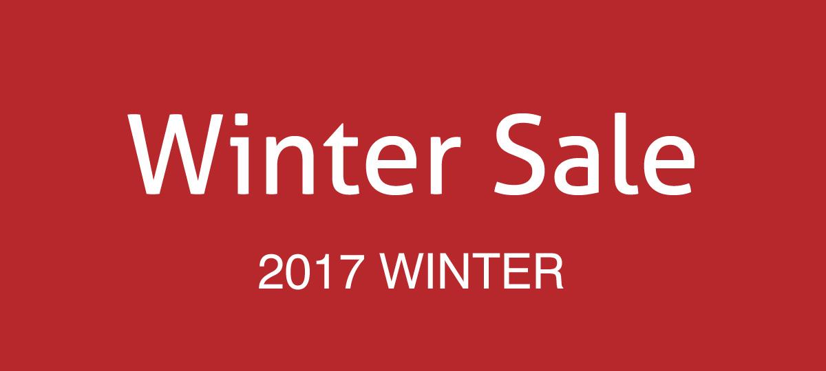 Winter Sale ウィンターセール