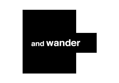 and wander (アンドワンダー)